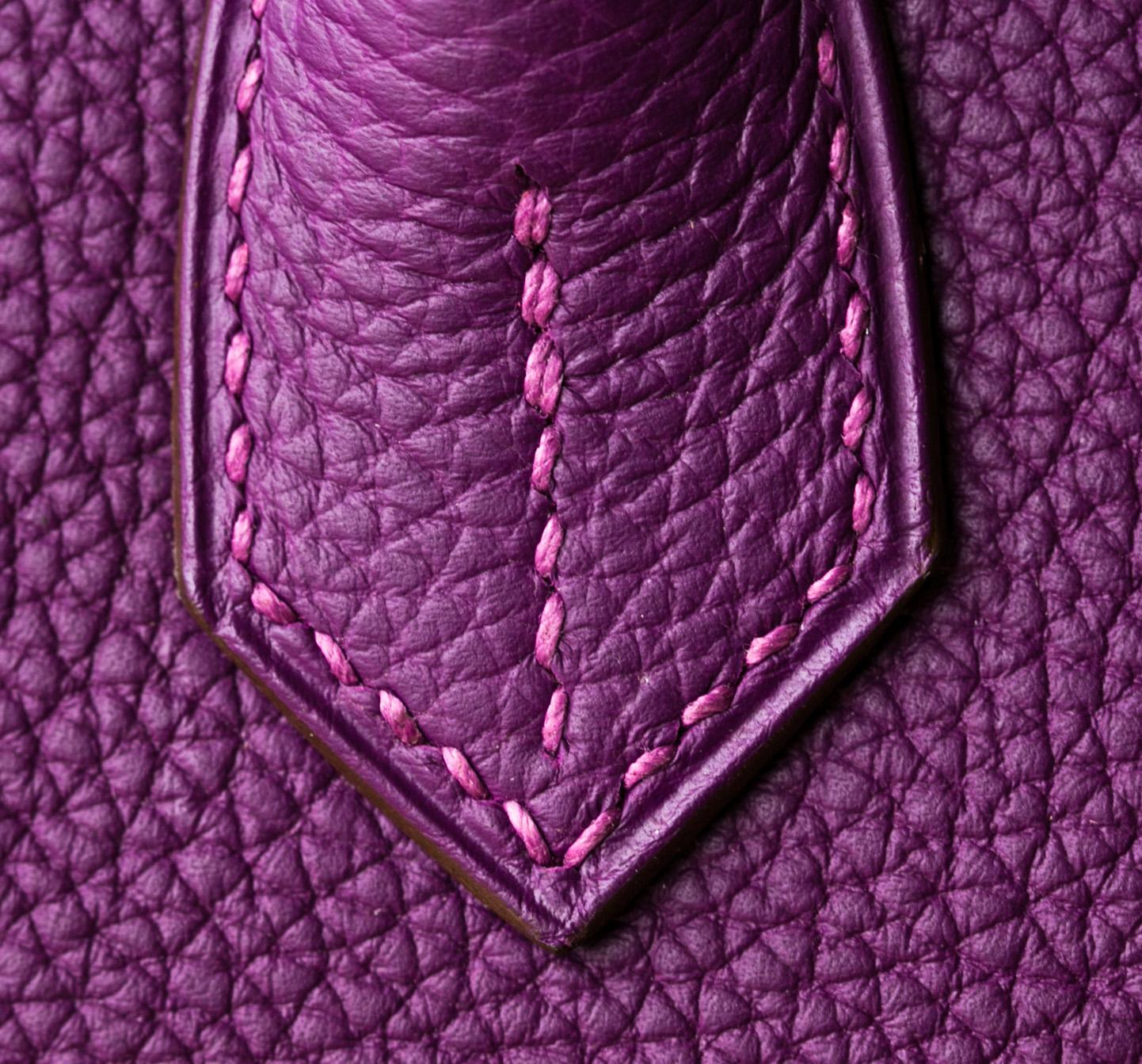 Hermes Birkin 25CM P9海葵紫 Togo皮 金扣银扣现货
