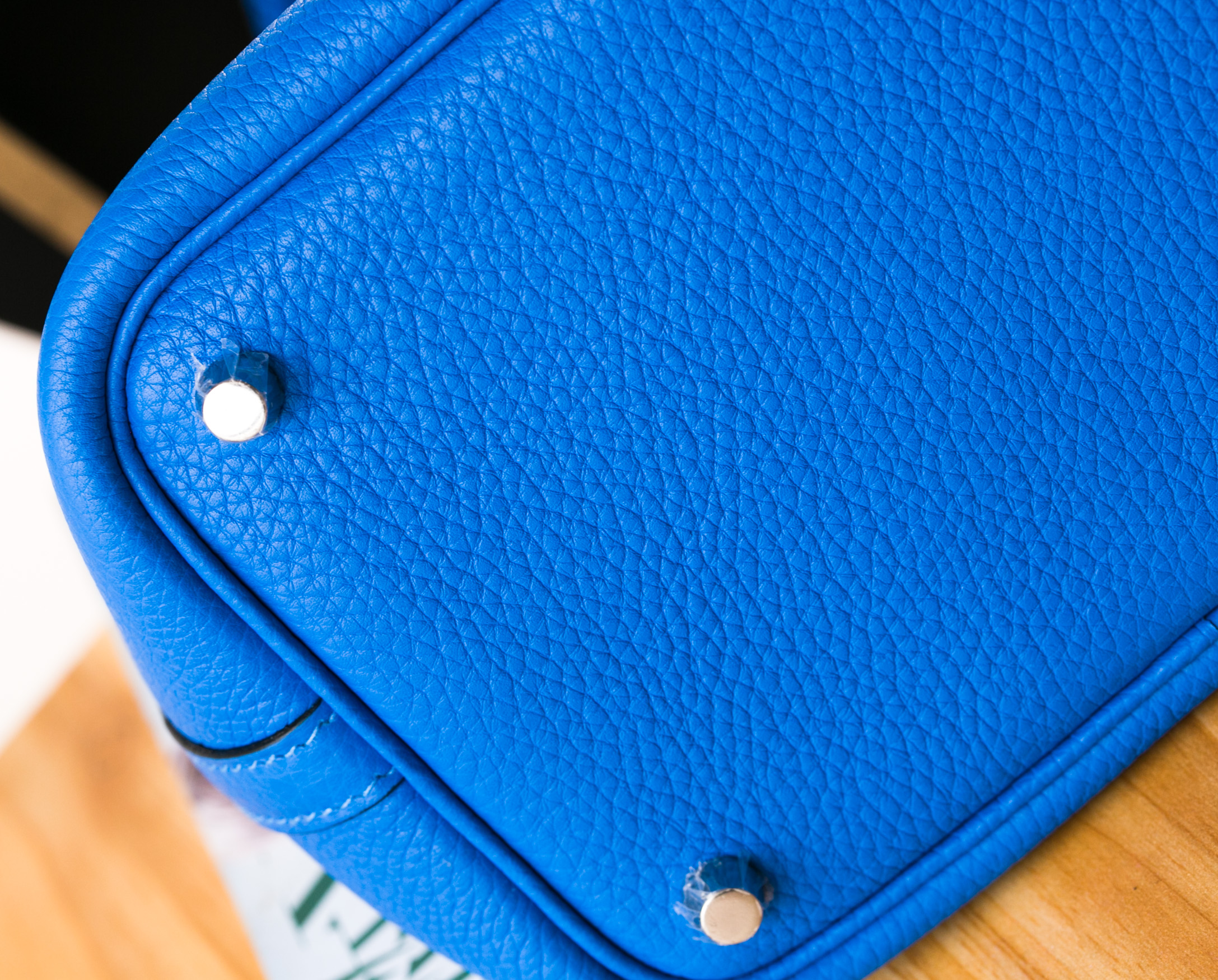 Hermes新款女包 爱马仕B3坦桑尼亚蓝原厂TC牛皮Picotin菜篮子包22cm