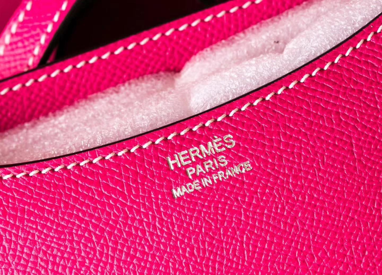 Hermes爱马仕康斯坦包  E5糖果粉原厂Epsom牛皮Constance19CM  银扣                                                                                                                                                                                                                                                                                                                                                                                                                                                                                                                                                                                                                                                                                                                                                                                                                                                                                                                                                                                                                                                                                                                                                                                                                                                                                                                                                                                                                                                                                                                                                                                                                                                                                                                                19CM 爱马仕E5糖果粉Epsom牛皮康斯坦包 银扣