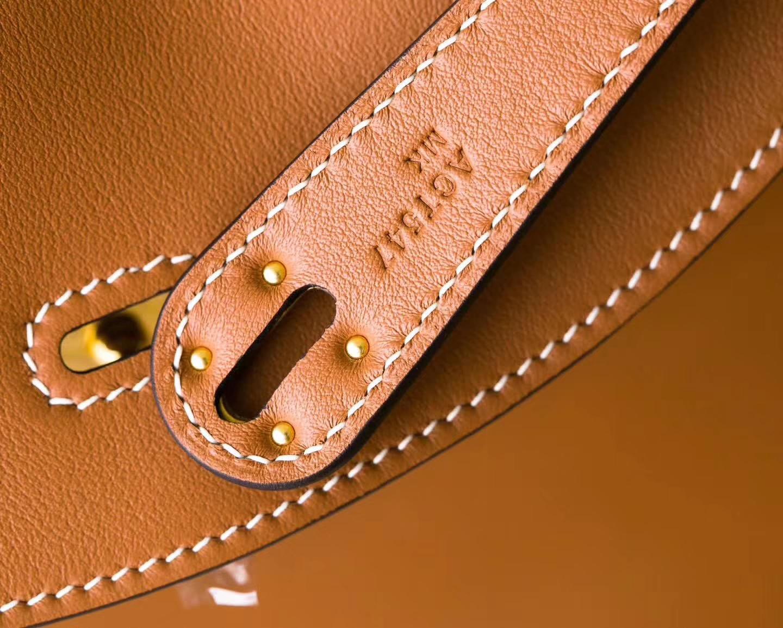 爱马仕琳迪包价格 Hermes Lindy 34CM CK37金色顶级Swift牛皮 金扣