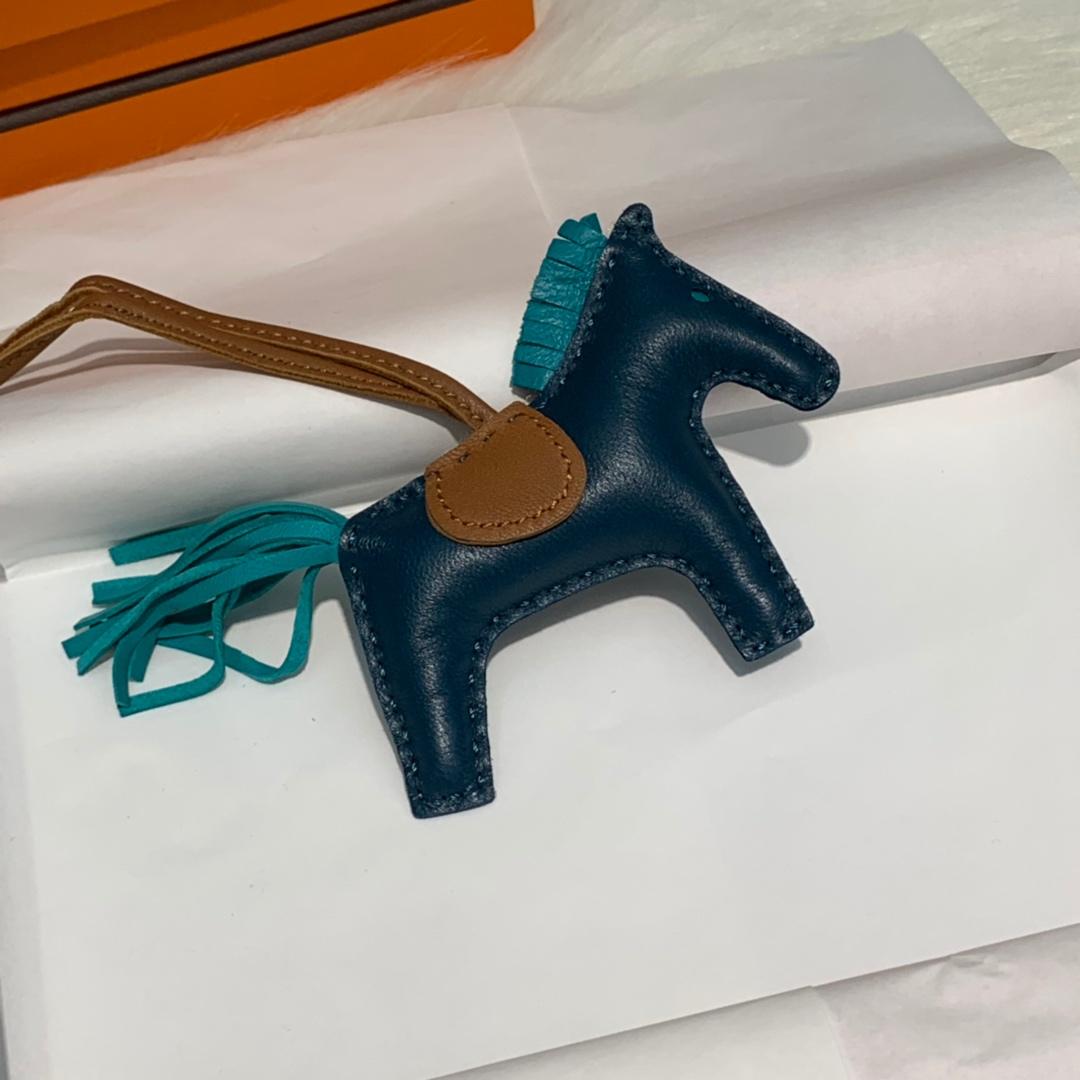 爱马仕纯手工缝制小马挂饰 Hermes多色顶级绵羊皮包包挂件