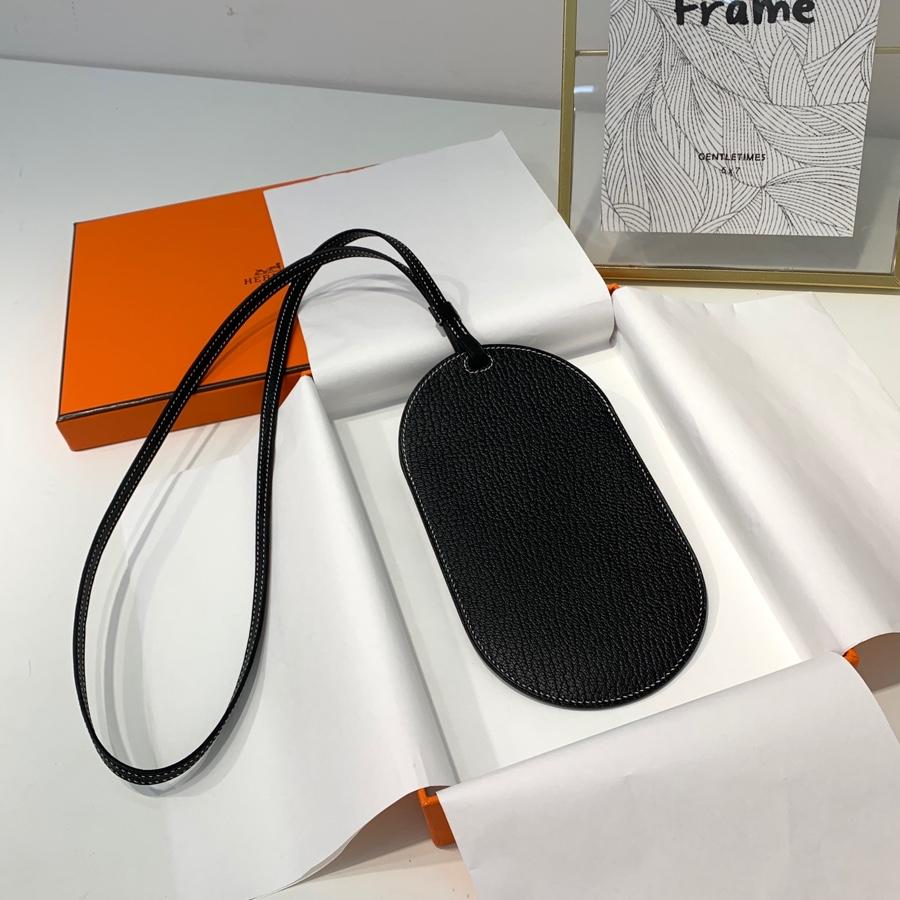现货 爱马仕挂件批发 Hermes World B新款包包挂件挂饰 黑色